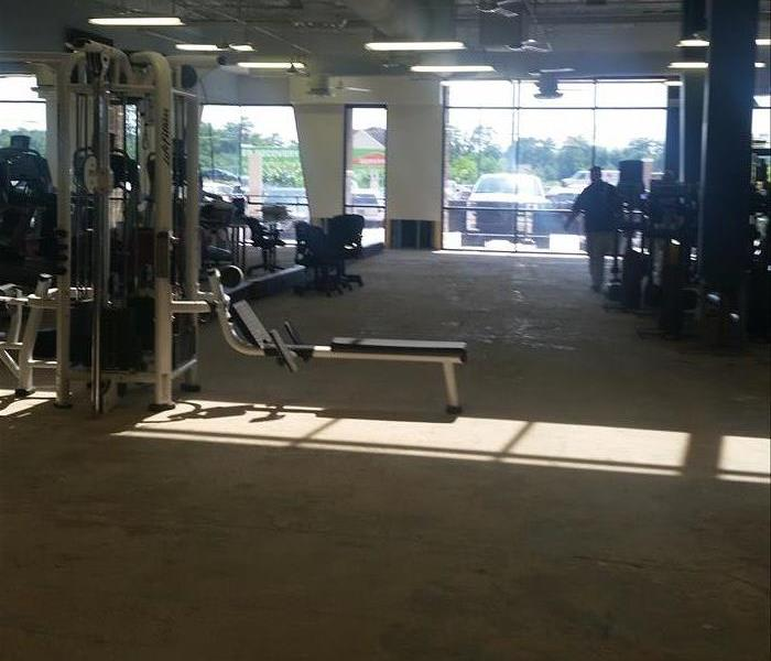 Flooded Gym After